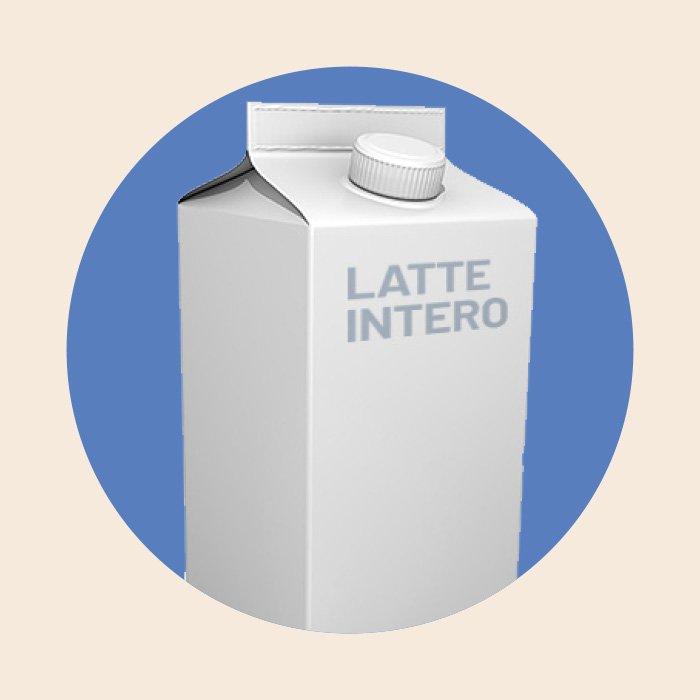 Confezione d latte Intero
