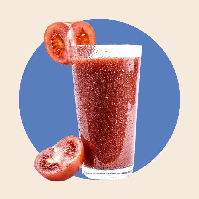 Bicchiere di succo di frutta